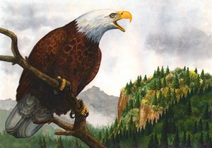 Eagle Mountain -Watercolor