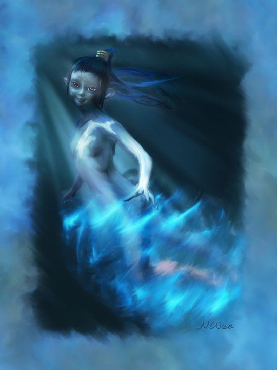 Born of Water - Western Hoard Art
