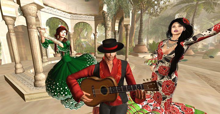 A La Alhambra Flamenco - Xanet Calbet