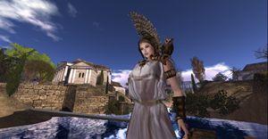 Minerva and Owl - Xanet Calbet