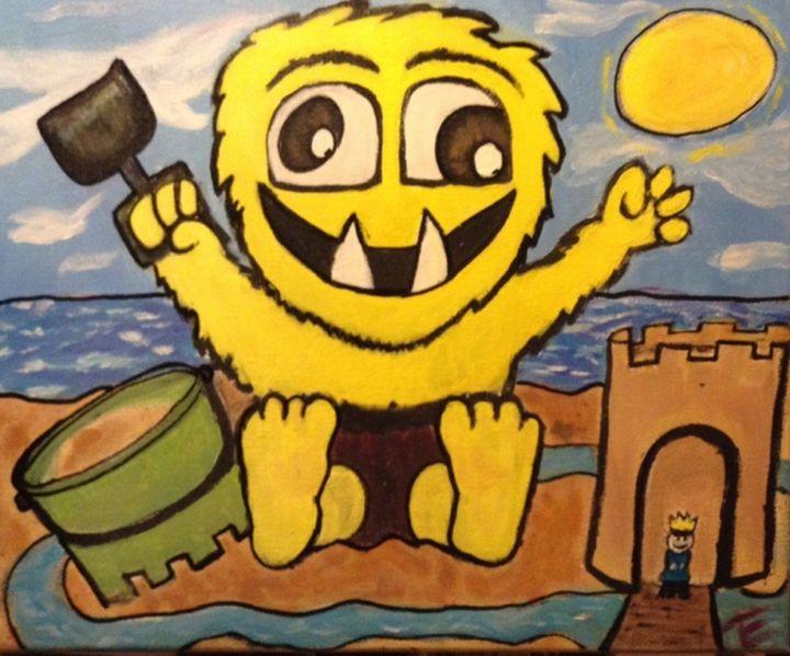 Beach monster - Imaginary Life