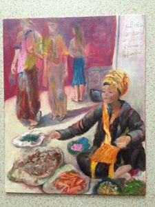 Pa'O Market Lady
