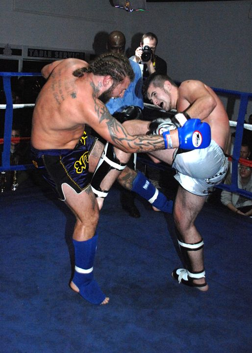 mma heavy weights attack - james p connor