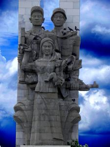 freedom and peace statue - james p connor