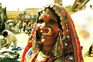 market trader Mapusa Goa
