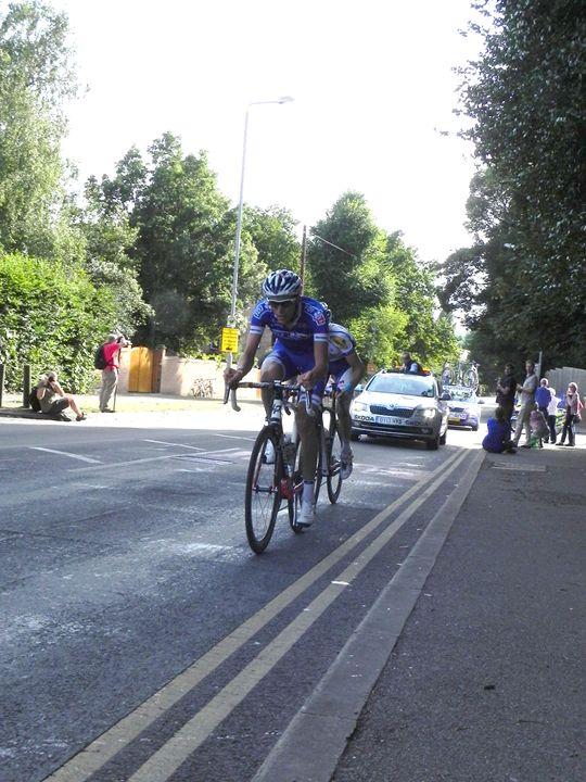 The London Bike Race - james p connor