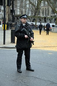 armed police on the streets london 2