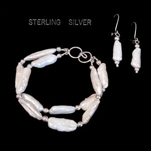 Pearl and Sterling Silver