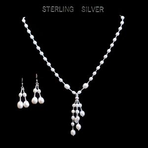 Pearl & Sterling Silver