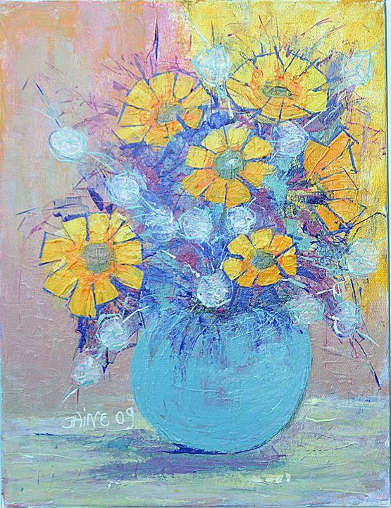 Tournesols - Sunflowers - Monikart - Monique Rouquier