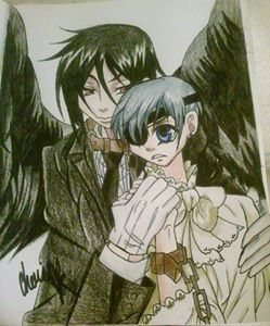 Sebastian and Ciel- Black Butler