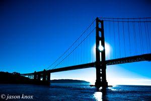 Point of Golden Light