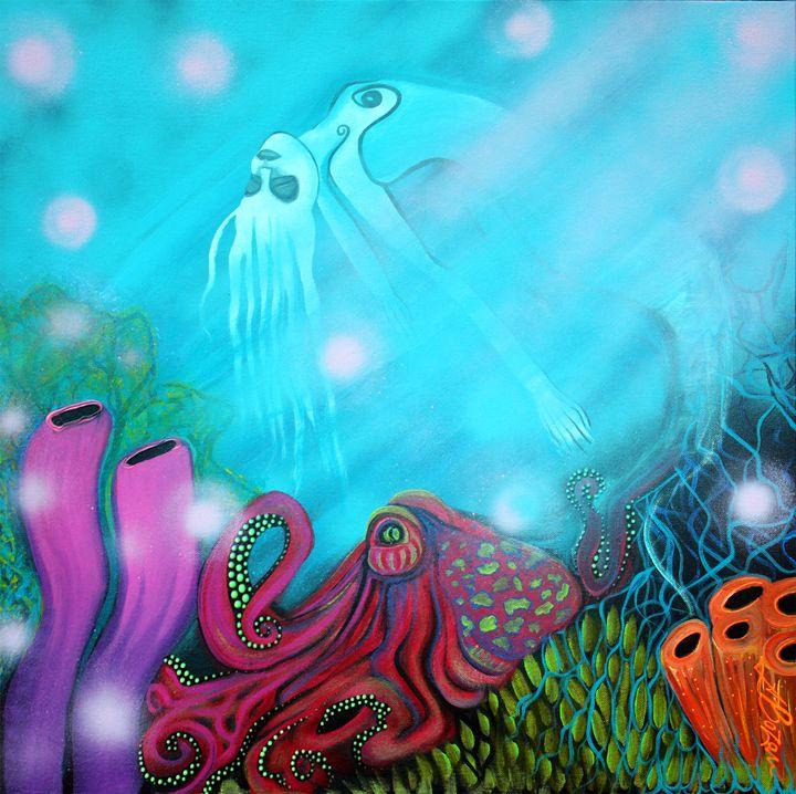 Sea Of Dreams - Laura Barbosa Art