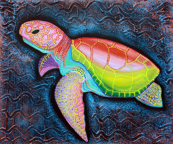 Kemp Ridley Sea Turtle - Laura Barbosa Art