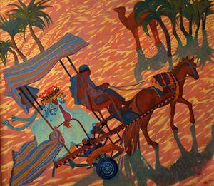 A ride in Sahara