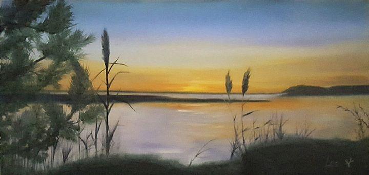 Wantaugh Sunset - LeanneScapes