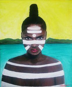 proud black woman