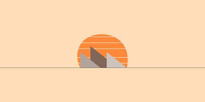 Sunset Hills - Ember Graphics