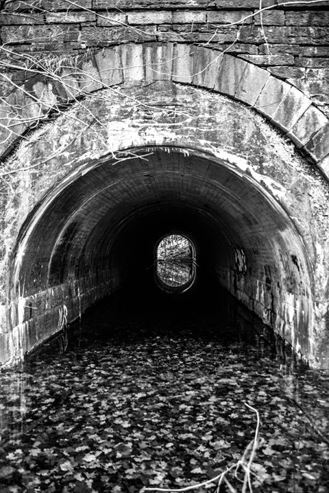 Light at the end of the tunnel - Mandi May photography
