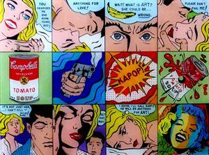 KAPOP: A Pop Art Parody