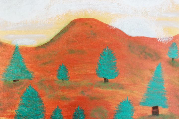 Metallic Landscape - Connie Ann LaPointe