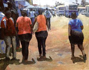 Go To Mwenge market for shopping