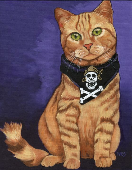 Skully The Pirate Cat - RKIves