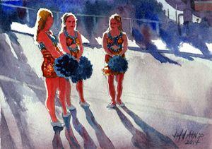 The Pom Squad - Jeff Atnip Art