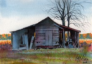 The Far Shed - Jeff Atnip Art