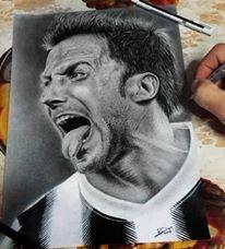 Alex Del Piero - Juventus Players Portraits