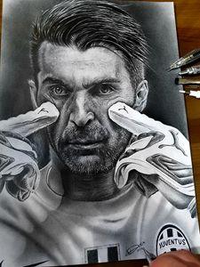 Buffon Portrait Juventus