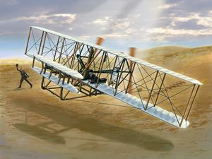First Flight: The Wright Flyer