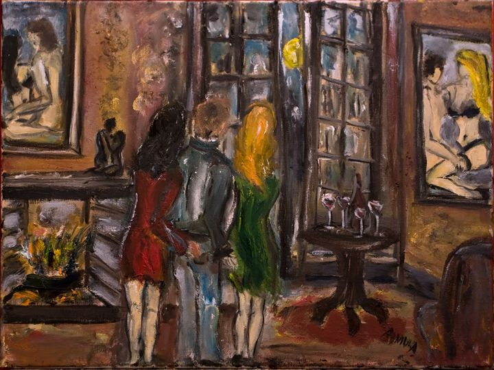 """The Four Glasses"" - Romula Art Gallery"