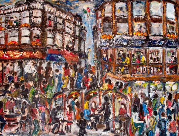 """""""A Night"""" - Romula Art Gallery"""