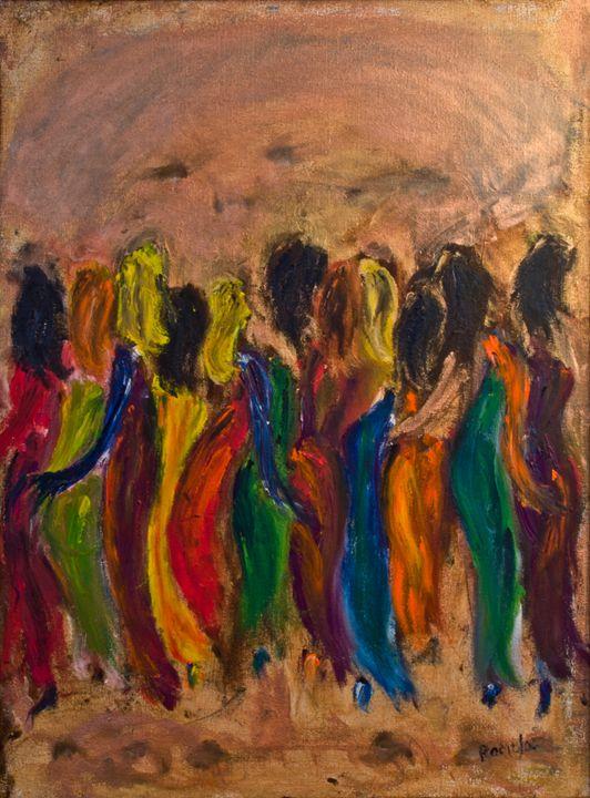 """We're Not Wearing Black"" - Romula Art Gallery"