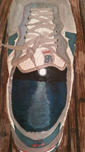 moon in the shoe