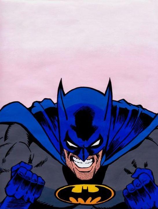 BATMAN POP ART - William Roslund