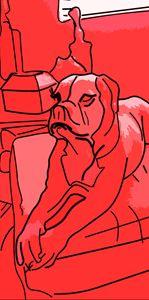 Patrick the Dog - Happyartsy