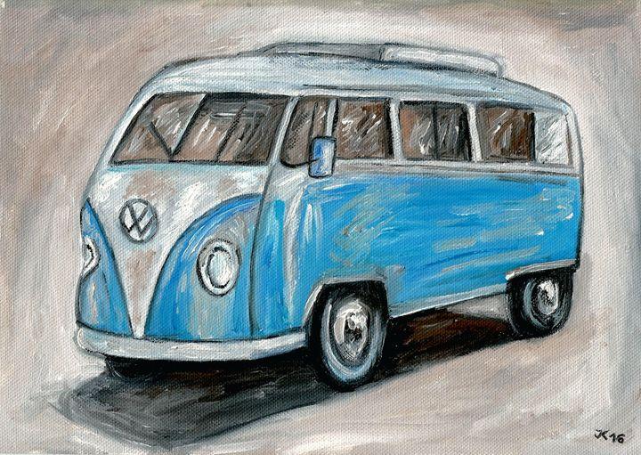 VW Bus Camper - Jana ART