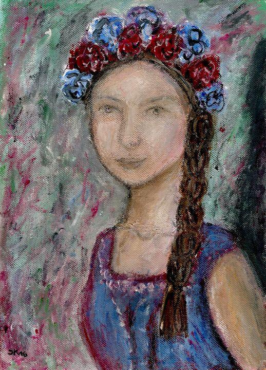 Slovak woman - Jana ART