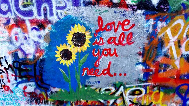 Graffiti Wall - Jana ART