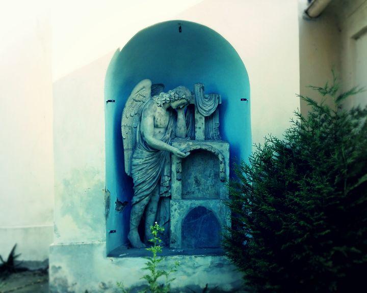 crying angel - Jana ART