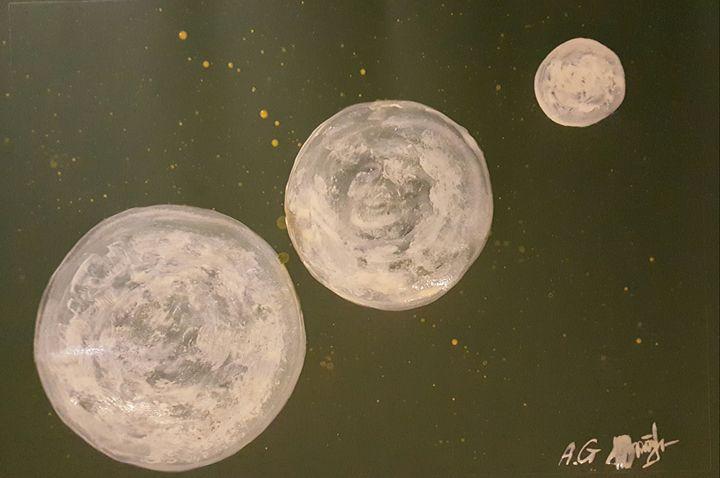 New planets - ArtAnnaGogoleva