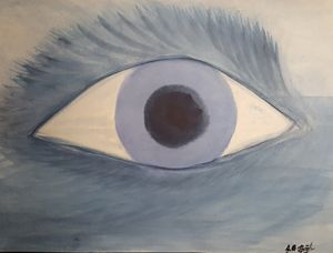 All-seeing eye of the sea