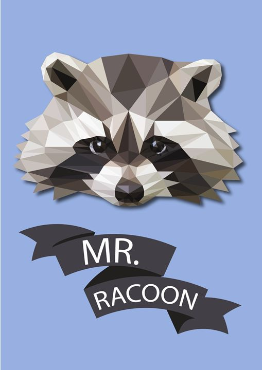 Mr.Racoon - Eimaza Creative