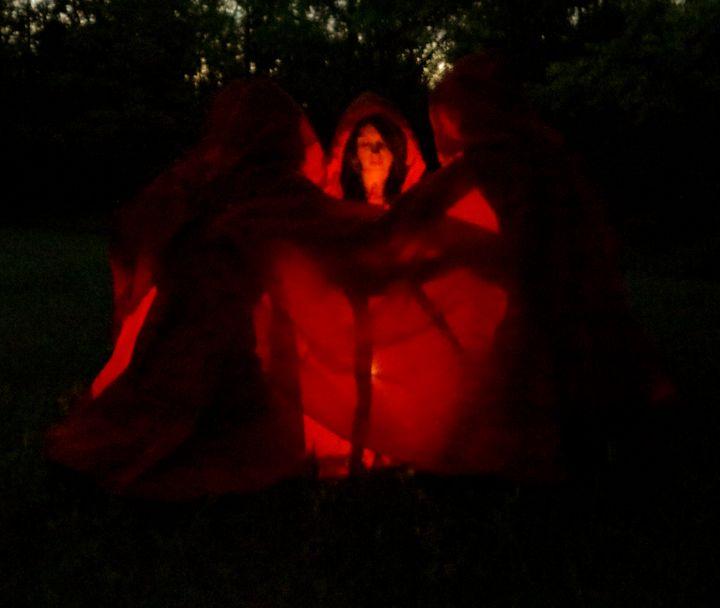 Red Devils - Artist Jeremy Bach