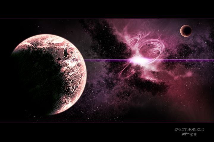 Event Horizon - The Art of Erik Stitt