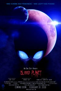 Blood Planet - Mock Movie Poster - The Art of Erik Stitt