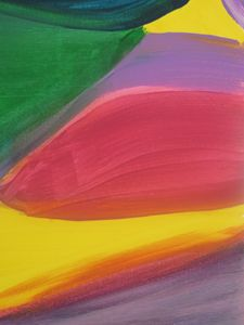 Abstract Rainbow Strokes
