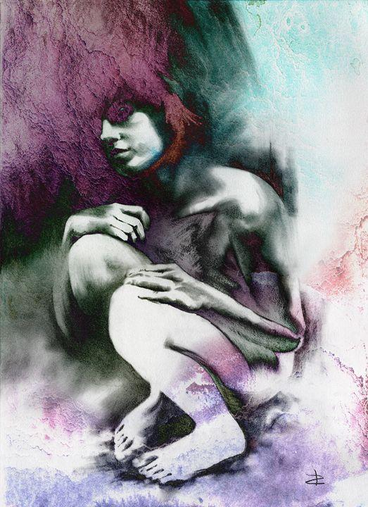 Pensive, textured - Paul Davenport GALLERY